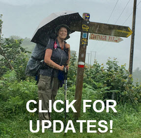 Read updates from Cathy on the Camino!
