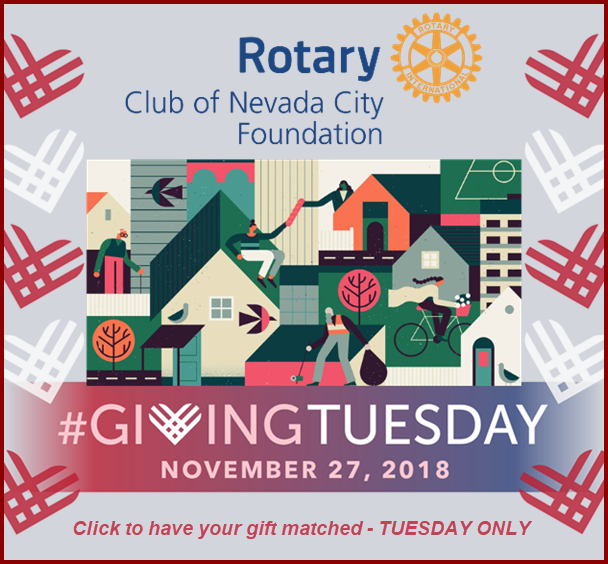 Giving Tuesday - One Time only