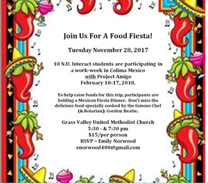 NU Interact Fiesta Feast