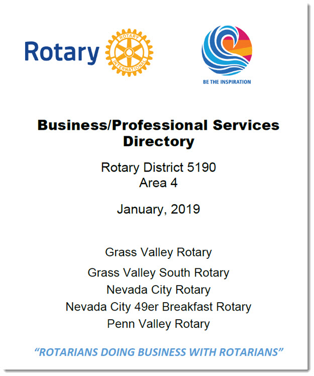 Area 4 Business and Professional Directory cover