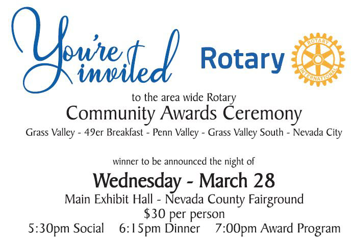Rotary Community Awards Event